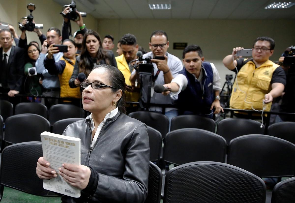 Στέλνουν φυλακή την πρώην αντιπρόεδρο στη Γουατεμάλα