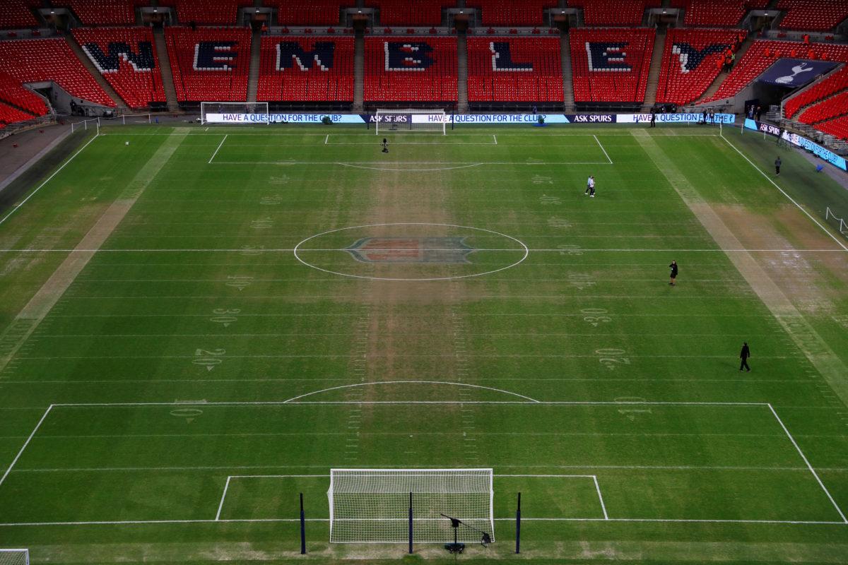 """Η UEFA θα ελέγξει το… χωράφι του """"Γουέμπλεϊ""""!"""