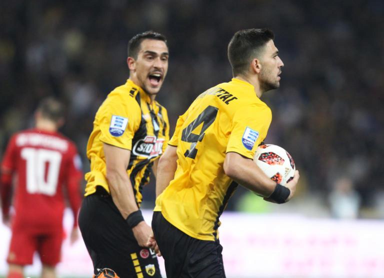 """ΑΕΚ – Ολυμπιακός 1-1 ΤΕΛΙΚΟ: """"Μοιρασιά"""" στο ΟΑΚΑ χάρη στον… Φετφατζίδη!"""
