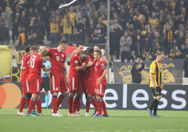 ΑΕΚ – Μπάγερν Μονάχου 0-2 ΤΕΛΙΚΟ: «Πάλεψε» αλλά… έπεσε η Ένωση στο ΟΑΚΑ!