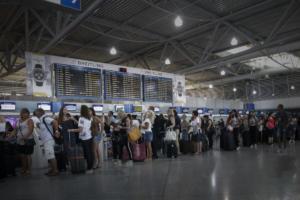 Στα ύψη η επιβατική κίνηση στα αεροδρόμια – Ιστορικό ρεκόρ ο αριθμός των επιβατών!