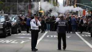 ΗΠΑ – CNN: Πήραν το ύποπτο πακέτο από τους δίδυμους πύργους του Time Warner Center!