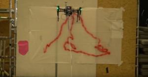 Το πρώτο drone που φτιάχνει γκράφιτι δημιούργησε η Ντίσνει [video]
