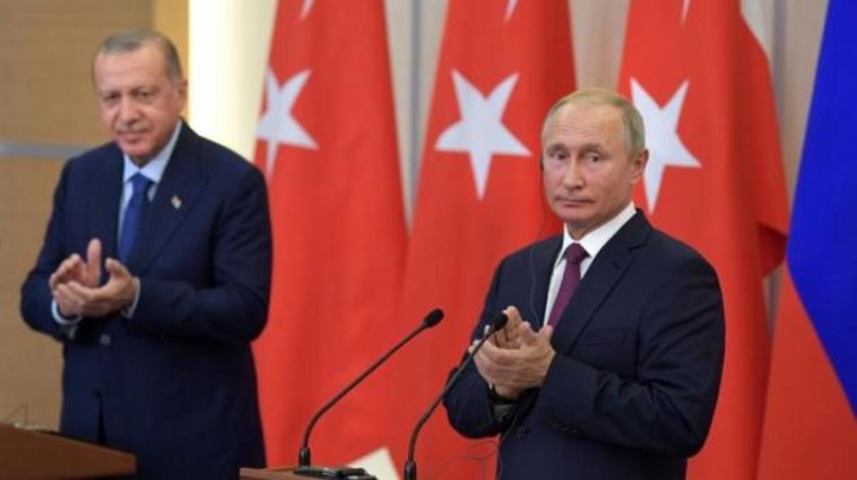 """""""Κλείδωσε"""" το τετ-α-τετ Ερντογάν και Πούτιν για το μέλλον της Συρίας!"""