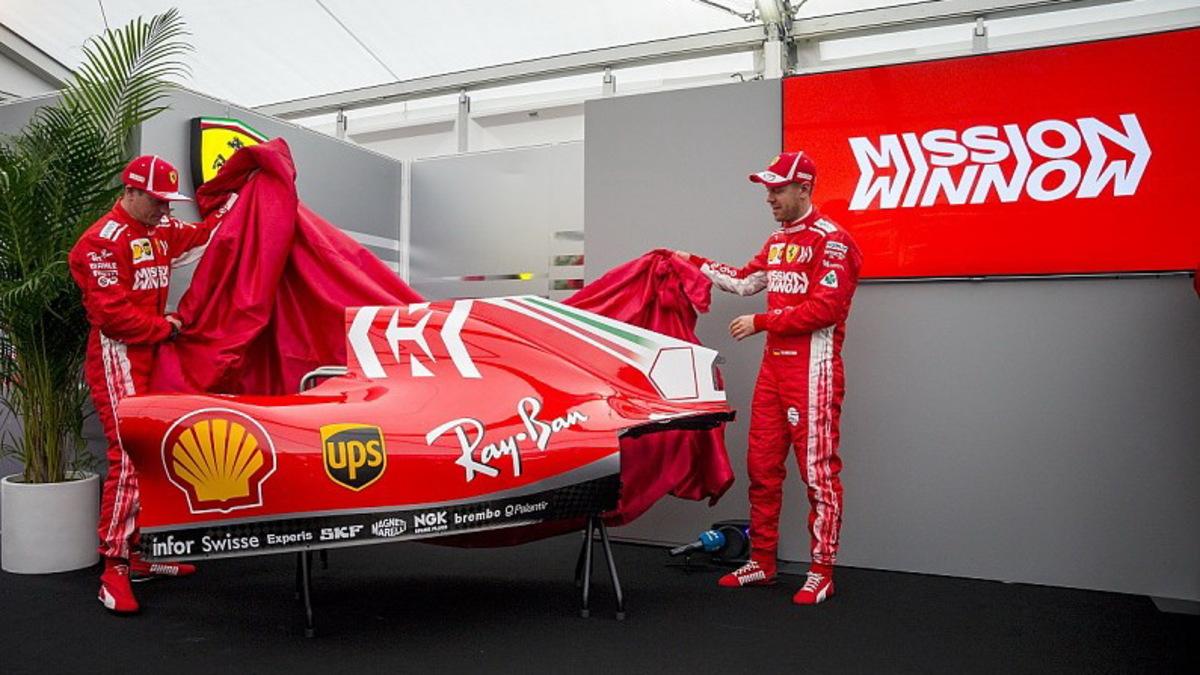 Formula 1: Νέα χρώματα για τη Ferrari