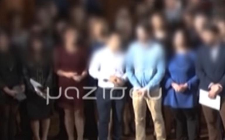 Σέρρες: Το βίντεο ντοκουμέντο με τον καθηγητή των ΤΕΙ που εκθέτει το κράτος – Αποδοκιμασίες και οργή – Το ροζ μυστικό για τις φοιτήτριες!