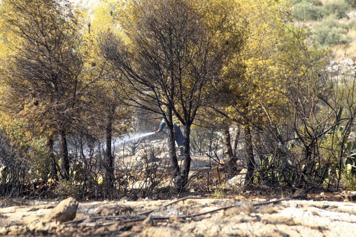 Ημαθία: Νεκρός άνδρας μέσα σε φλεγόμενο χωράφι