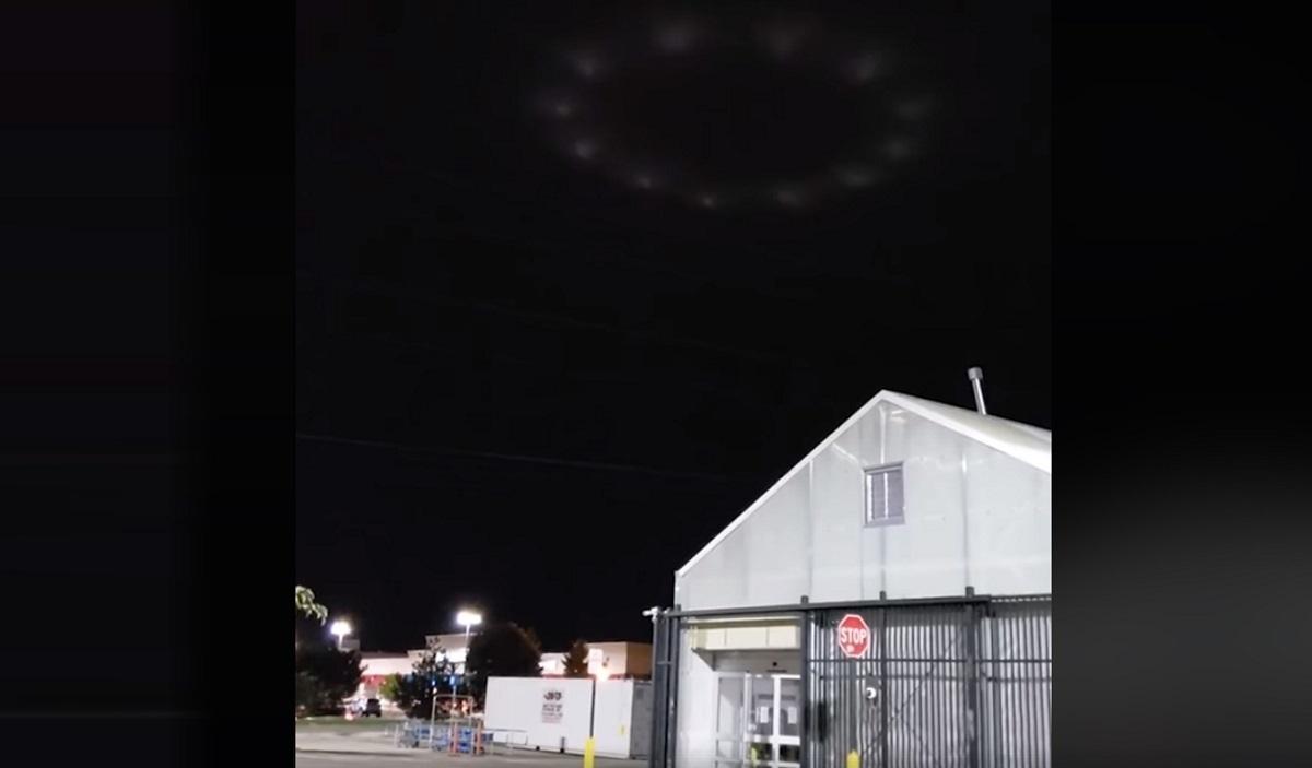 Ανέβασε αυτό το βίντεο με ιπτάμενο δίσκο και έσπειρε τον τρόμο – Οι εικόνες που κόβουν την ανάσα