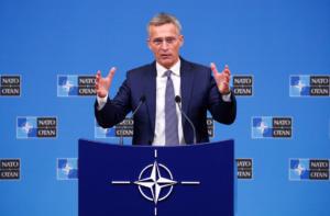 Στόλτενμπεργκ σε ΠΓΔΜ: Μόνο η Συμφωνία των Πρεσπών σας βάζει στο ΝΑΤΟ