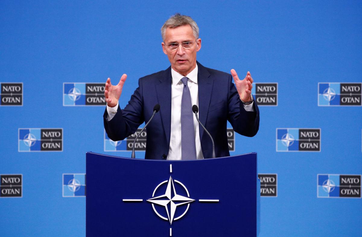 """""""Μήνυμα"""" Στόλτενμπεργκ: Η """"Ευρώπη της άμυνας"""" δεν πρέπει να οικοδομηθεί εις βάρος του ΝΑΤΟ"""