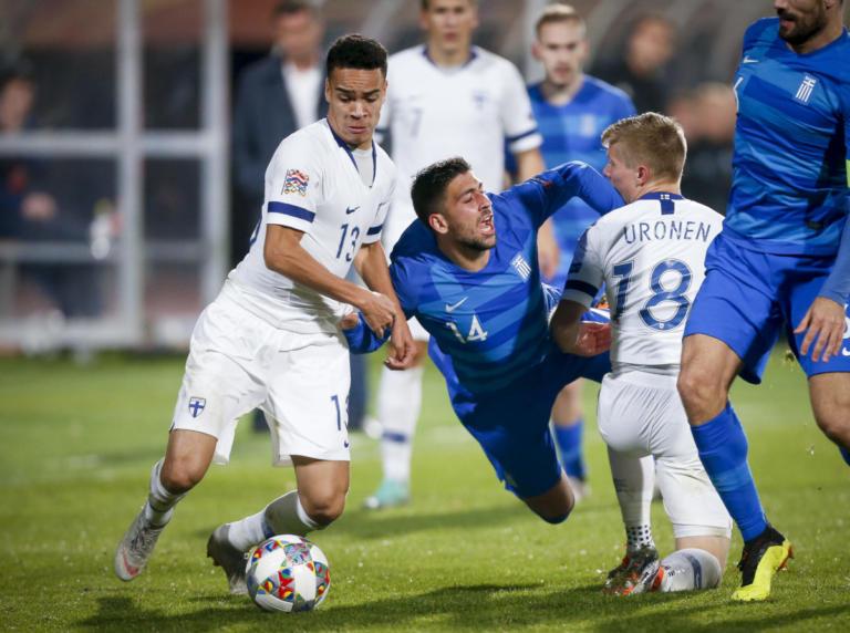 """Φινλανδία – Ελλάδα 2-0 ΤΕΛΙΚΟ: Έχασε δίκαια η Εθνική! """"Αποχαιρετά"""" ουσιαστικά το Nations League"""