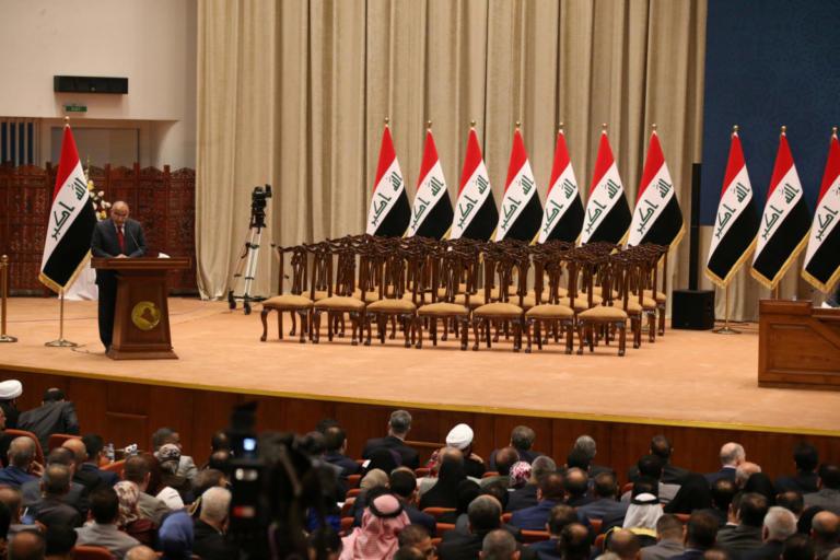 Ορκίστηκε ο νέος πρωθυπουργός του Ιράκ και μέρος του υπουργικού του συμβουλίου