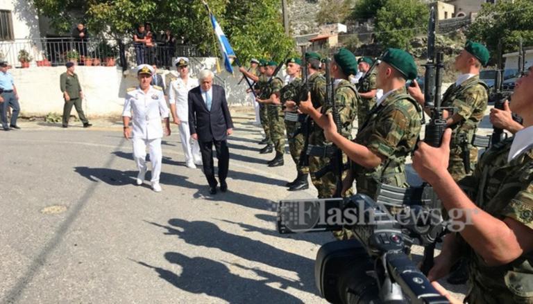 Κρήτη: Ιστορική ημέρα για τον μαρτυρικό Καλλικράτη – video