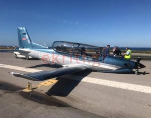 Αναγκαστική προσγείωση στο αεροδρόμιο του Ηρακλείου