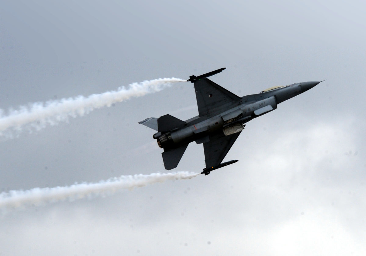 Πτήσεις μαχητικών πάνω από τη Θεσσαλονίκη