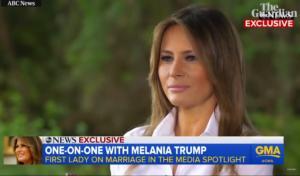 Μελάνια Τραμπ: «Χαστουκίζει» τα media με μια συνέντευξη – ποταμό! video