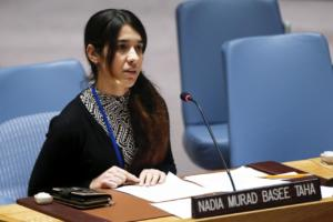 Την καταδίκη των τζιχαντιστών ζητά η κάτοχος του Νόμπελ Ειρήνης Νάντια Μουράντ