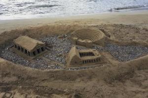 Αργολίδα: Έργα τέχνης στην παραλία – Έχτισαν παλάτια στην άμμο και άφησαν άφωνους τους πάντες [pics]