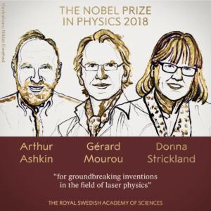 Νόμπελ Φυσικής: Μια γυναίκα ανάμεσα στους νικητές