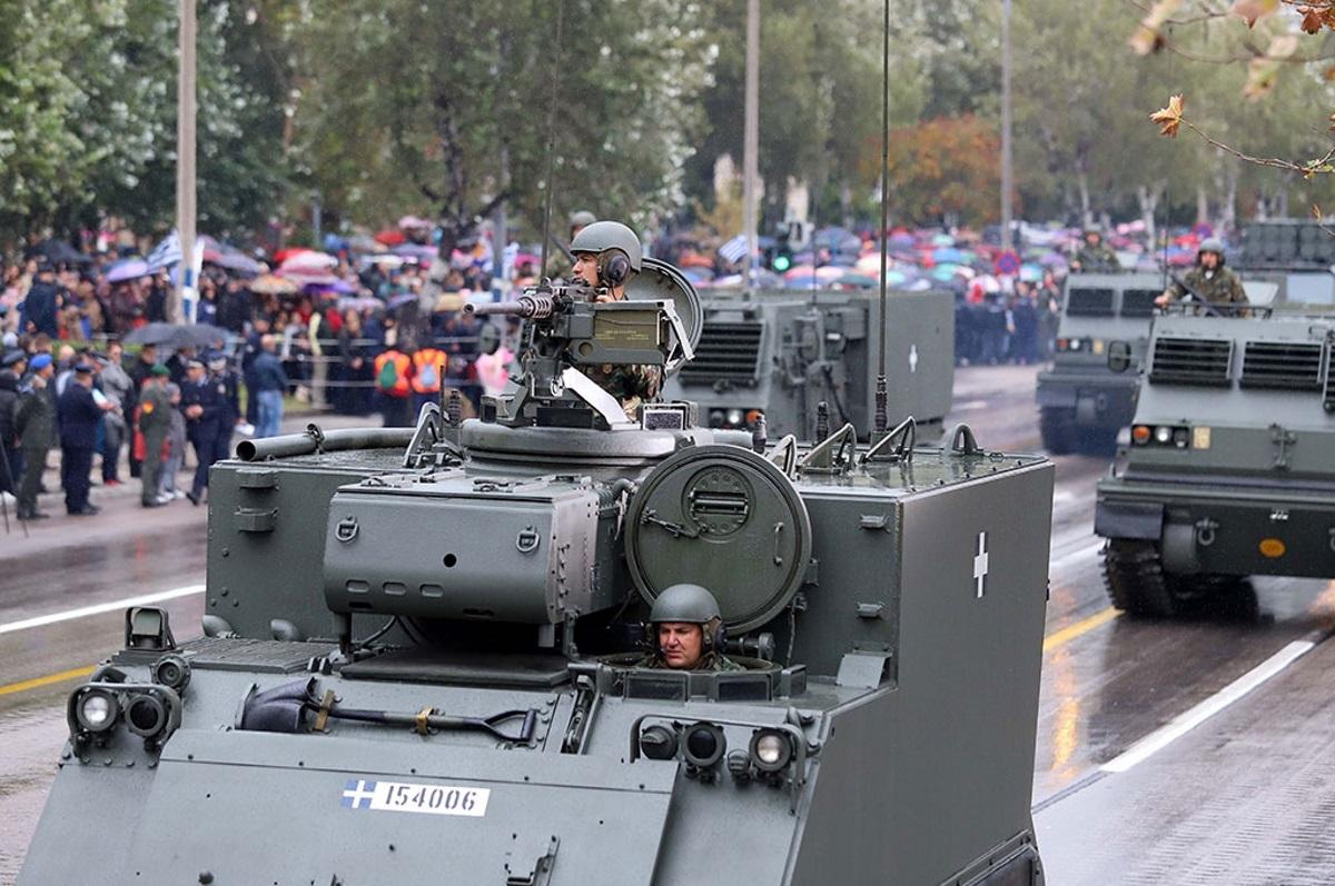 στρατιωτική παρέλαση Θεσσαλονίκη 28 Οκτωβρίου 2018