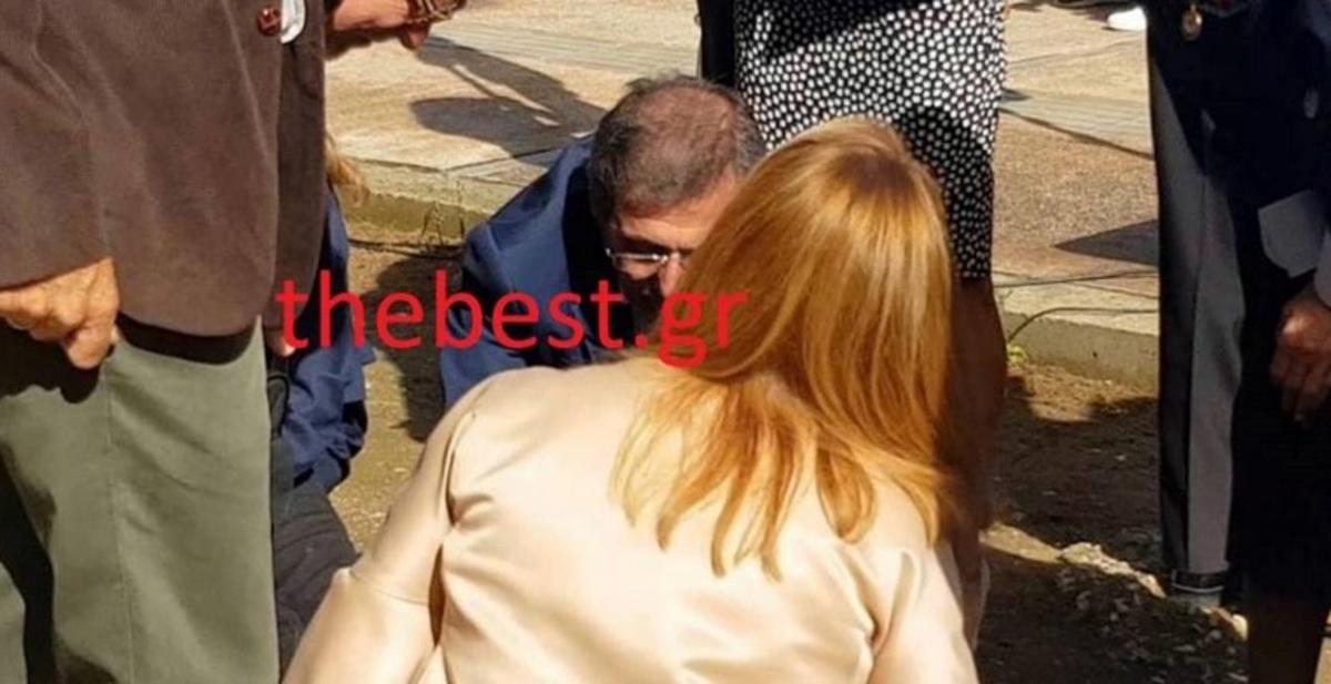 Ο Πελετίδης έδωσε τις πρώτες βοήθειες σε μαθητή που λιποθύμησε [pic]