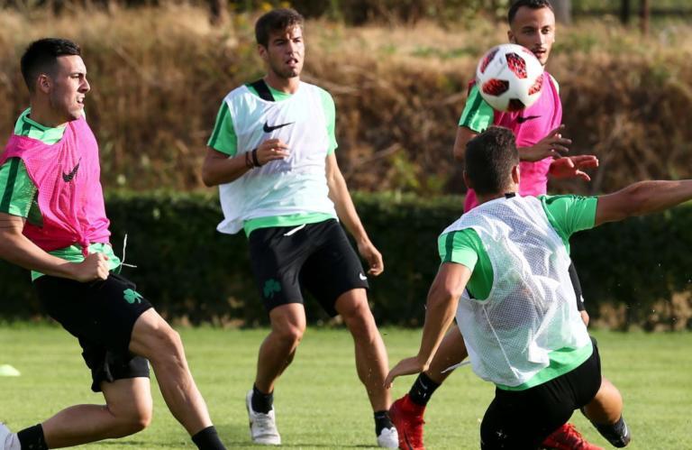 Χωρίς 12 παίκτες η προπόνηση του Παναθηναϊκού! Εκτός και οι 4 τραυματίες