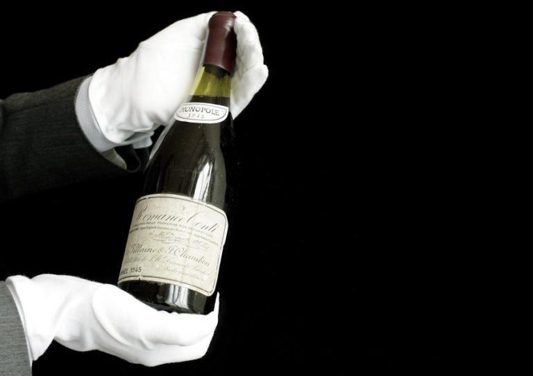 Αυτό το μπουκάλι κρασί πουλήθηκε 558.000 δολάρια!