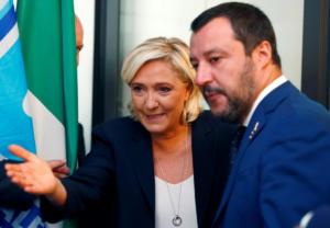Θα τους καμάρωνε ο Μουσολίνι! Σαλβίνι και Λε Πεν θέλουν να «καταλάβουν» το ευρωκοινοβούλιο!
