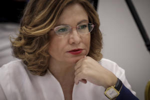Σπυράκη στο newsit.gr: «Είδα μία φορά τυχαία τον Ζάεφ»