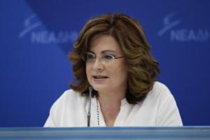 Σπυράκη για Πρέσπες: «Η ΝΔ δεν κάνει παζάρια με κανέναν»