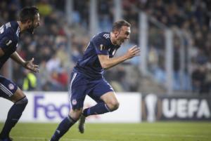 """Ολυμπιακός: """"Σάρωσε"""" ο Τοροσίδης στο Europa League! Στην κορυφαία 11άδα της αγωνιστικής [pic]"""