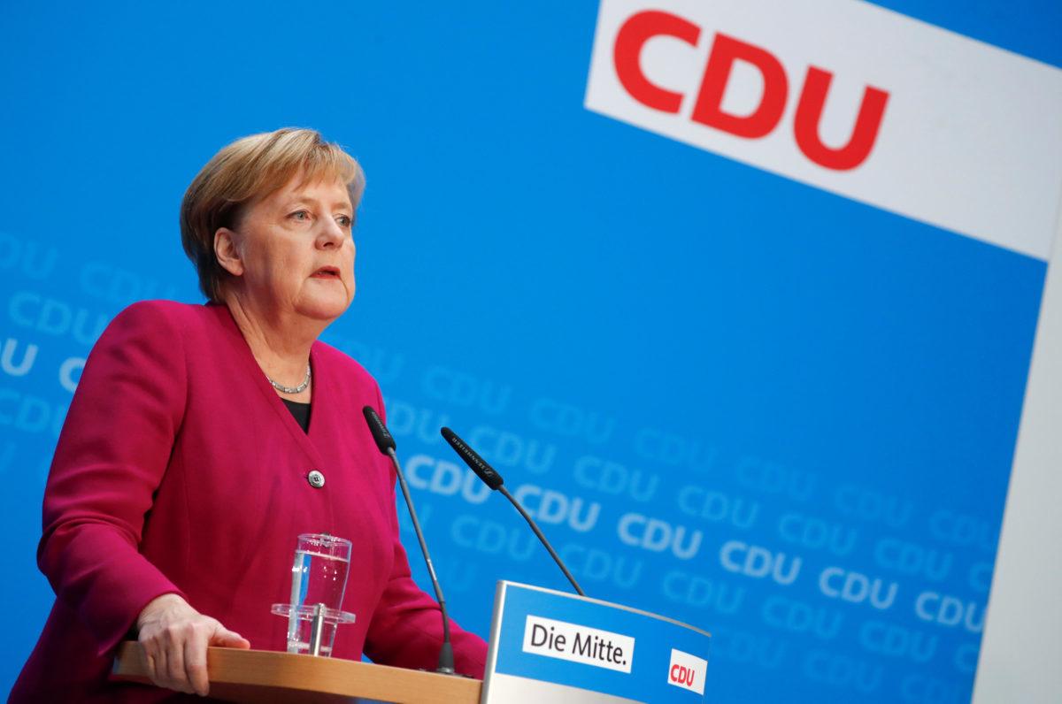 Απαρηγόρητη Μέρκελ: Αυτή είναι η τελευταία μου θητεία - Μετά το 2021 αποχωρώ από την πολιτική