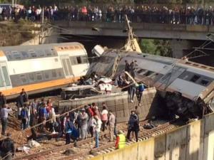Τέσσερις νεκροί από σύγκρουση τρένων στο Μαρόκο [pics]