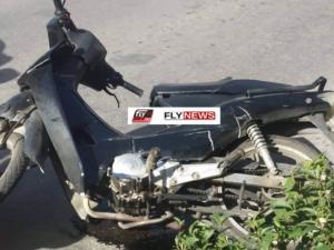 """Σπάρτη: Τραυματίστηκε οδηγός σε τροχαίο – Το """"παπάκι"""" του συγκρούστηκε με αυτοκίνητο [pic]"""