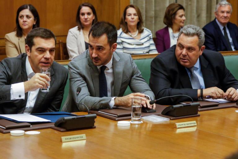 Τσίπρας σε Καμμένο στο υπουργικό: Δεσμεύσου ότι δεν θα ρίξεις την κυβέρνηση για το Σκοπιανό