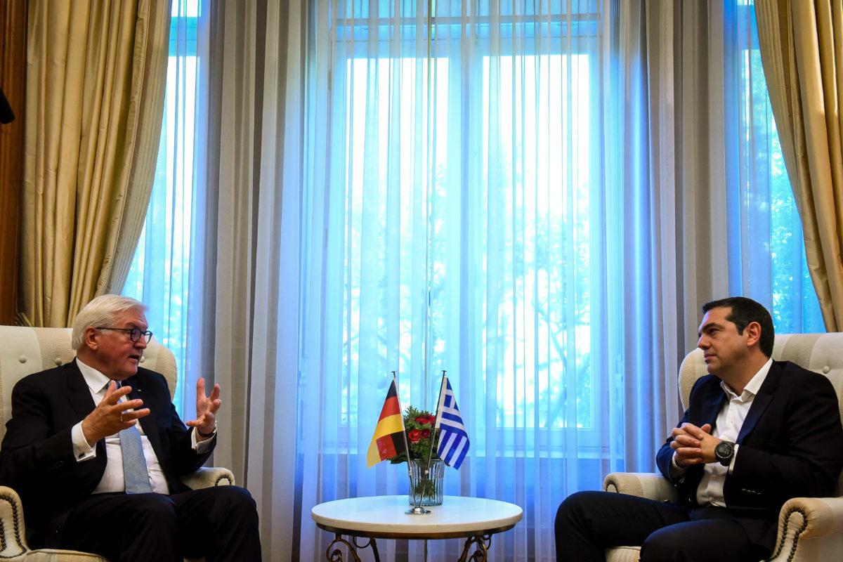 Τσίπρας – Στάινμαϊερ: Συγνώμη και νέα αρχή στις σχέσεις Ελλάδας – Γερμανίας