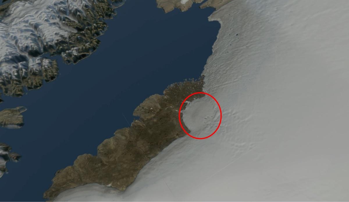Ανακαλύφθηκε κρατήρας μεγαλύτερος από την Αττική! – Προκλήθηκε από πτώση μετεωρίτη