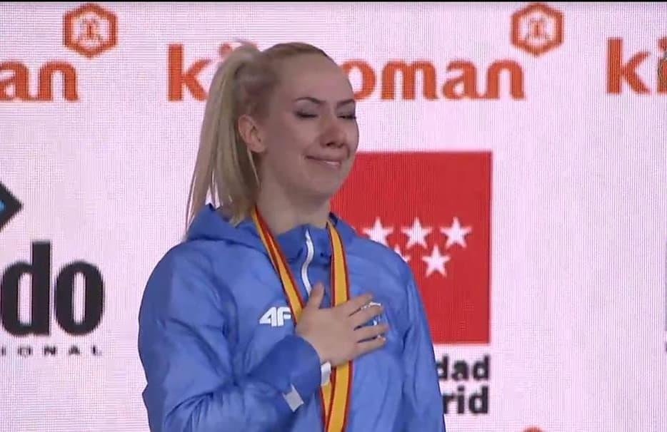 Παγκόσμια πρωταθλήτρια η Ελένη Χατζηλιάδου! Συγκινημένη στο βάθρο [pics]