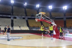 Ολυμπιακός – Φενέρμπαχτσε: Προπονήθηκε στο ΣΕΦ η ομάδα του Ομπράντοβιτς – video