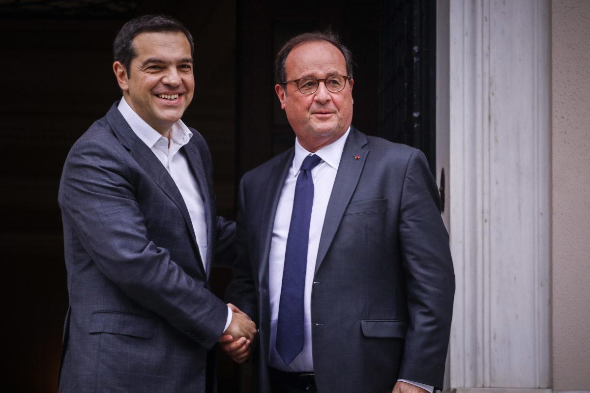 Τσίπρας σε Ολάντ: Ήσασταν ένας πραγματικός φίλος της Ελλάδας στα δύσκολα