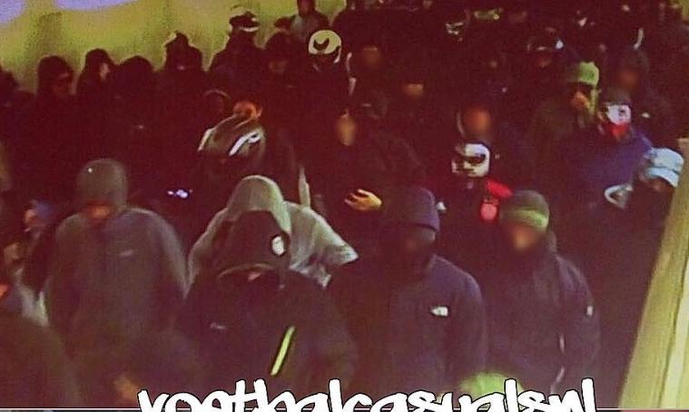 Χαμός στη Λ. Αλεξάνδρας! Συμπλοκές μεταξύ οπαδών της ΑΕΚ, του Άγιαξ και του Παναθηναϊκού