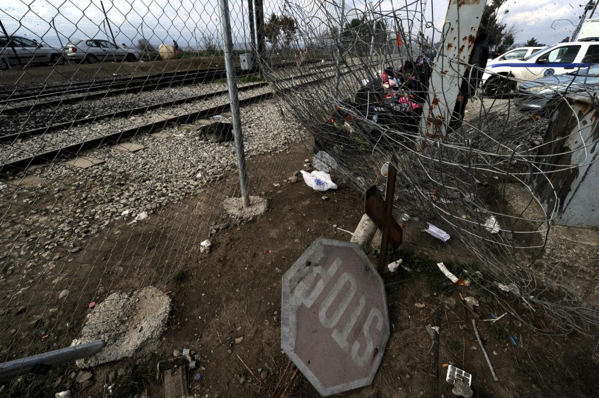 Απίστευτο! Ξήλωσαν τα… σύνορα με την πΓΔΜ!