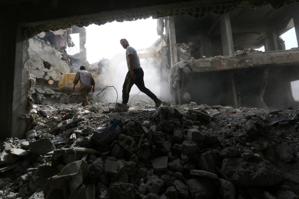 Συρία: Νεκροί και τραυματίες από την ισχυρή έκρηξη στην Δαμασκό