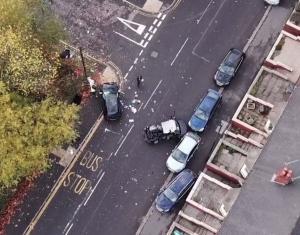 Πολύνεκρο τροχαίο από οδηγό που ήθελε να ξεφύγει από την αστυνομία! Video