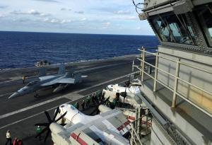 Συντριβή αμερικανικού μαχητικού στη Θάλασσα των Φιλιππίνων