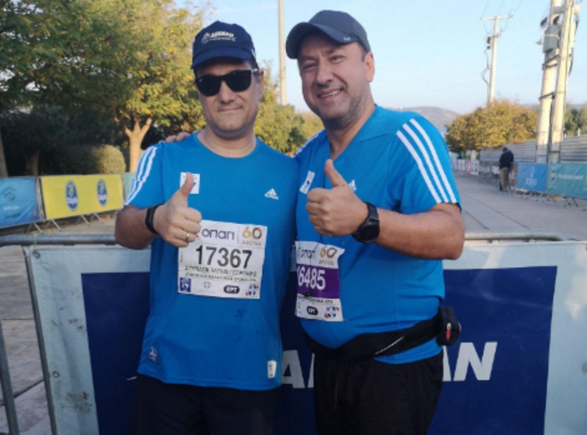 Μαραθώνιος: Ο Άδωνις Γεωργιάδης τρέχει τα 42 χιλιόμετρα! [pics]