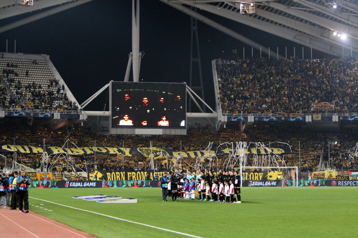 """UEFA: """"Κίτρινη κάρτα"""" στην ΑΕΚ! Με κόσμο κόντρα στον Άγιαξ"""