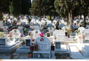 """Ηράκλειο: Η σκιά στο νεκροταφείο και οι σκηνές απείρου κάλλους που ακολούθησαν – Του βγήκε """"ξινή"""" η ιδέα!"""