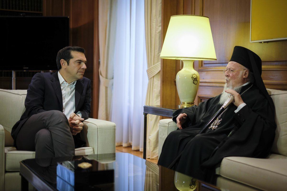 """Παγωμάρα και """"ουδέν σχόλιον"""" από το Φανάρι για τη συμφωνία Τσίπρα – Ιερώνυμου"""