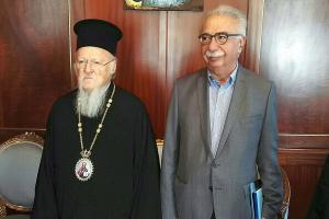 Διαψεύδει το Οικουμενικό Πατριαρχείο οργισμένο ξέσπασμα του Βαρθολομαίου στον Γαβρόγλου